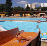 Outdoor swimming pool Pec pod Sněžkou