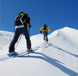 Skialpinismus Pec pod Sněžkou